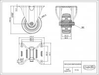 Bokwiel 080x35mm P4S4R0N