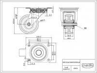 Zwenkwiel 080x35mm P0P0R1W