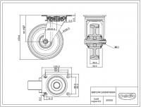 Zwenkwiel 125x32mm N2U6B32