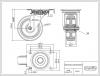 Zwenkwiel 100x27mm SWS4R0N