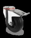 Zwenkwiel met rem 125x38mm P4S4R0N