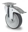 Zwenkwiel met rem 075x25mm P2T2P0N